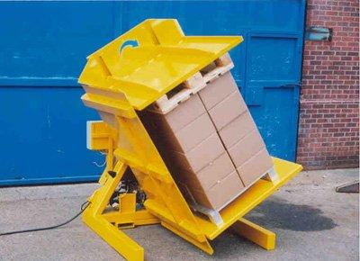 Cambiador paleta cajas.