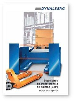 """Portada del Catálogo """"Estaciones de Transferencia de Paletas (ETP)"""""""