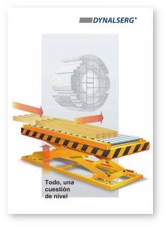 """Portada del Catálogo """"Mesas elevadoras para cadena producción"""""""