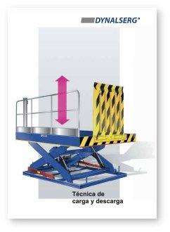 """Portada del Catálogo """"Mesas elevadoras para carga y descarga"""""""
