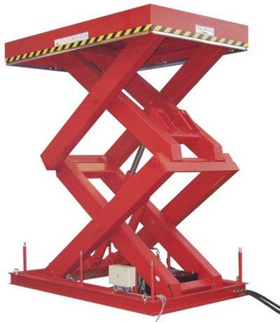 Mesa elevadora estandar de tijera doble