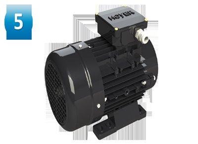 Motor protección IP55
